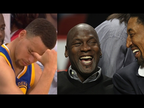 "Michael Jordan DISSES Steph Curry and the Warriors: ""73 Wins Don"
