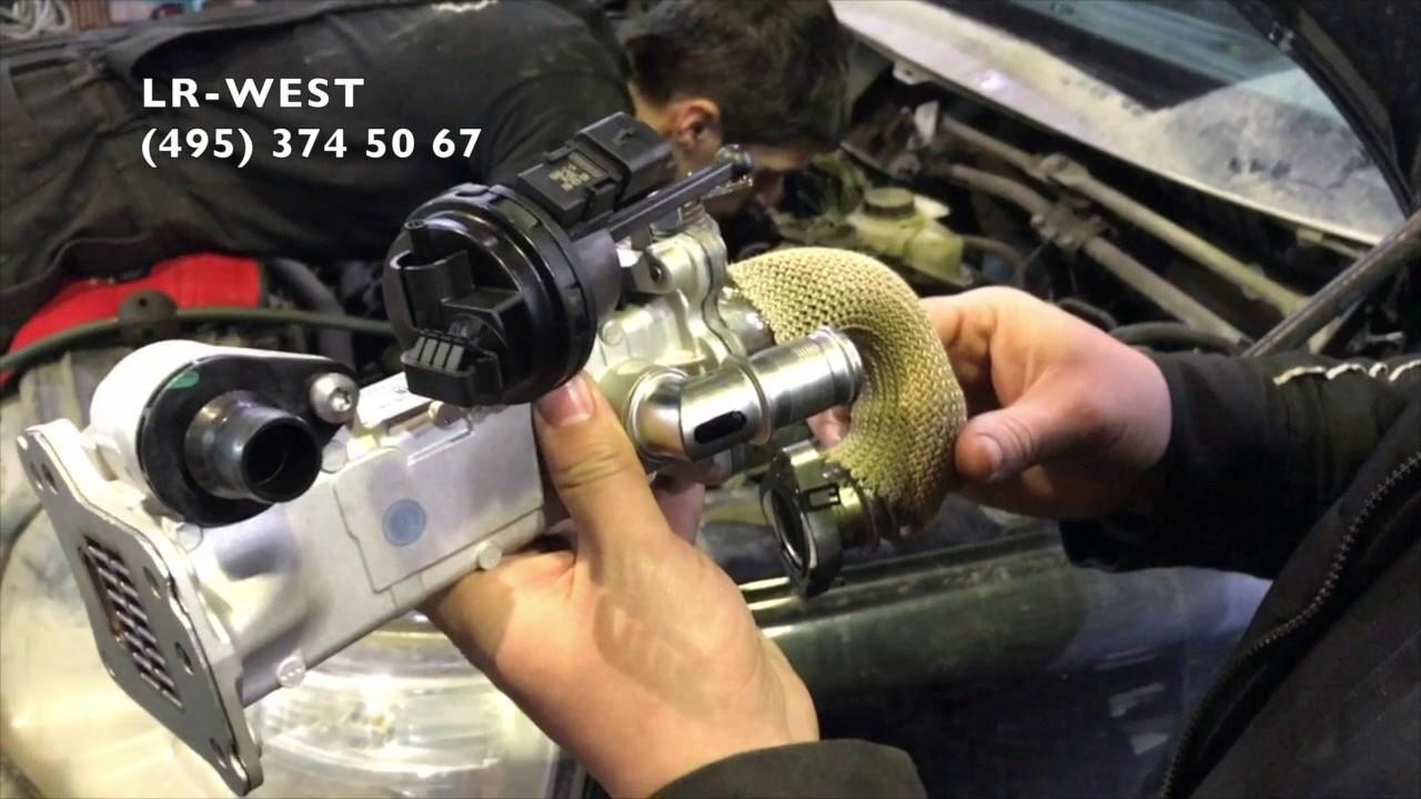 Охладитель ЕГР на дизельном двигателе Фрилендер 2 - особенности.