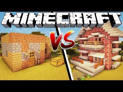 NOOB HOUSE VS PRO HOUSE - Minecraft