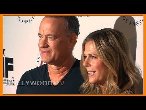 Tom Hanks and Rita Wilson talks Shakespeare - Hollywood TV