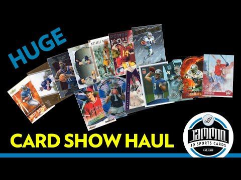 Huge Sports Card Show Haul