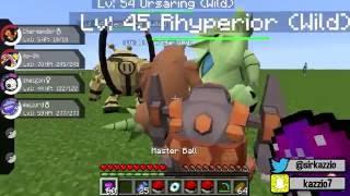 Minecraft : LUCKY PIXELMON - LUGIA VS HO-OH ! A MELHOR BATALHA !!