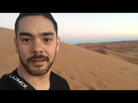 Sand dunes in Morocco (riding footage from Fes to Merzouga)