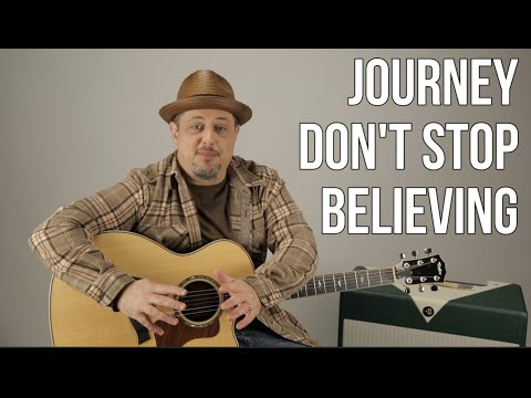 "How to Play ""Don't Stop Believin"" by Journey on Guitar"