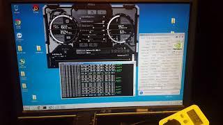 Майнинг алгоритма Neoscrypt через ccminer от KlausT, nvidia gtx 1050ti