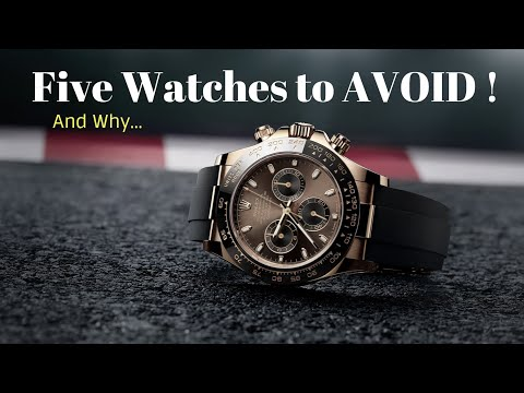 Top 5 Types Of Watches To Avoid - 5 Watches You Should Stay Away From!!