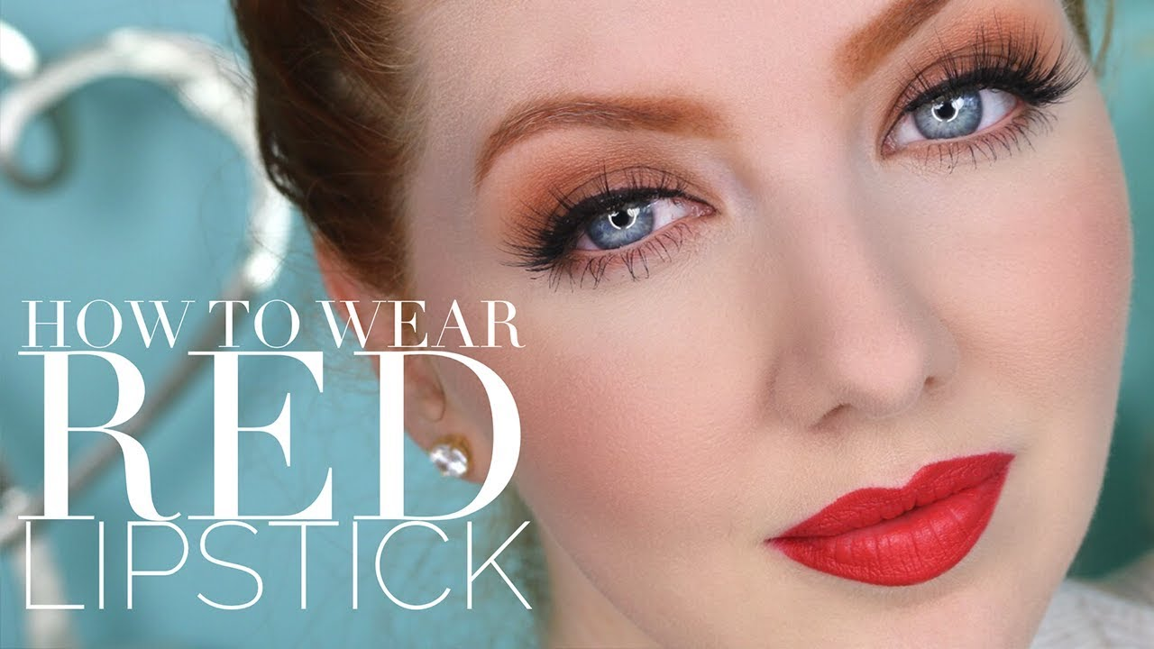 Buy How to wear red lip picture trends