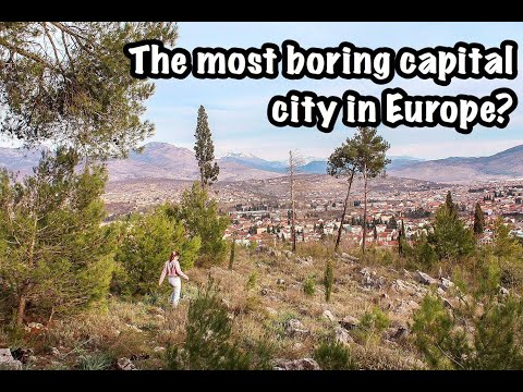 Is this the most boring city in Europe? - PODGORICA, Montenegro