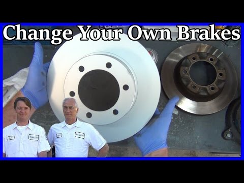how-to-replace-front-brake-pads-and-rotors-in-90-minutes!---toyota-4runner-1996-2002