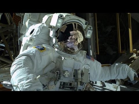 International Space Station: space walk repairs continue