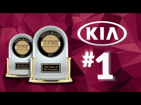 Back-to-Back: Kia Awarded Best Initial Quality by J.D. Power for 2 Consecutive Years!