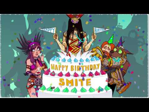 SMITE's 3rd Birthday - A Year in Stats