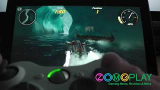 Demonstration: Using Xbox 360 Controller for Xbox / Windows 8 Games on Microsoft Surface R