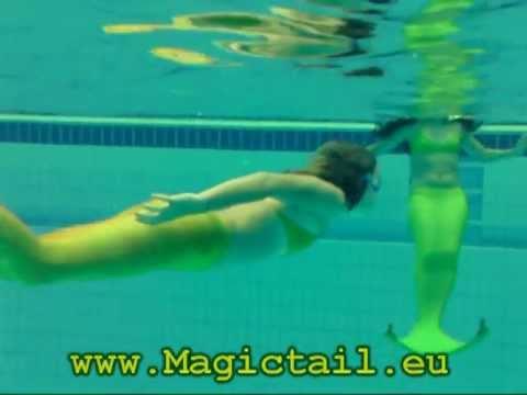 Magictail - dein echter Meerjungfrauenschwanz zum Schwimmen!