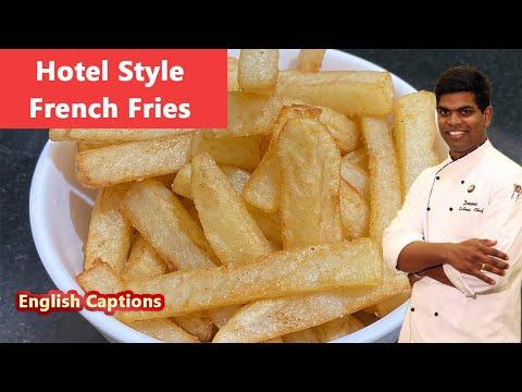 Hotel Style French Fries | உருளைக்கிழங்கு Fries| #hotel_style| #aloo | CDK #98 |Chef Deena's Kitchen