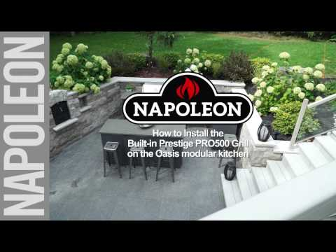 How To Install A Built In Grill Head For Outdoor Kitchen