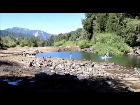 Rescate de peces en Sequía Río Fuy 2015