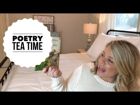 Poetry Tea Time | Charlotte Mason Homeschool | Becca's Journ