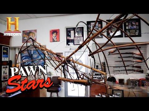 Pawn Stars: SKY-HIGH PRICE for Da Vinci Flying Machine (Season 18) | History