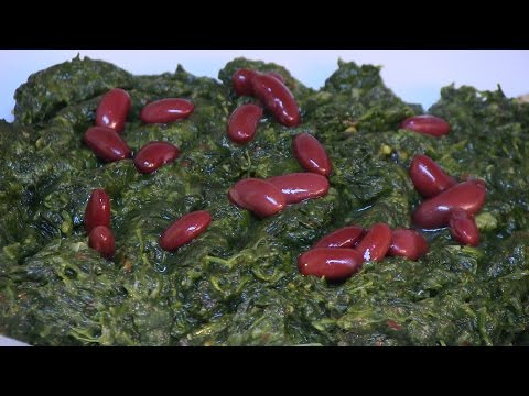 Afghan Special Recipe Spinach (Sabzi)