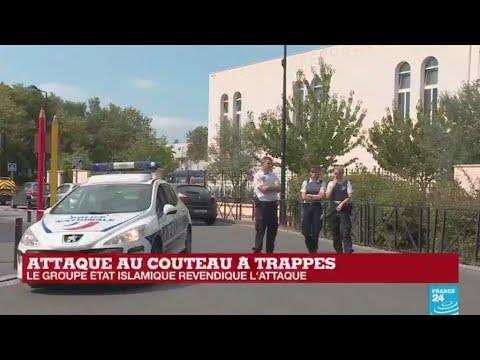 Le groupe État islamique revendique l''attaque au couteau à Trappes, près de Paris streaming vf