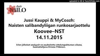 Radio N1ILO: Koovee–NST eräanalyysit 14.11.2015