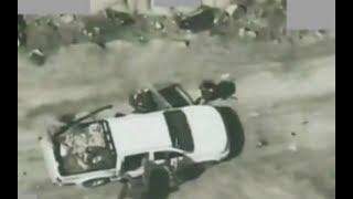 قصف أسلحة ومعدات مليشيا الحوثي الإيرانية الإرهابية