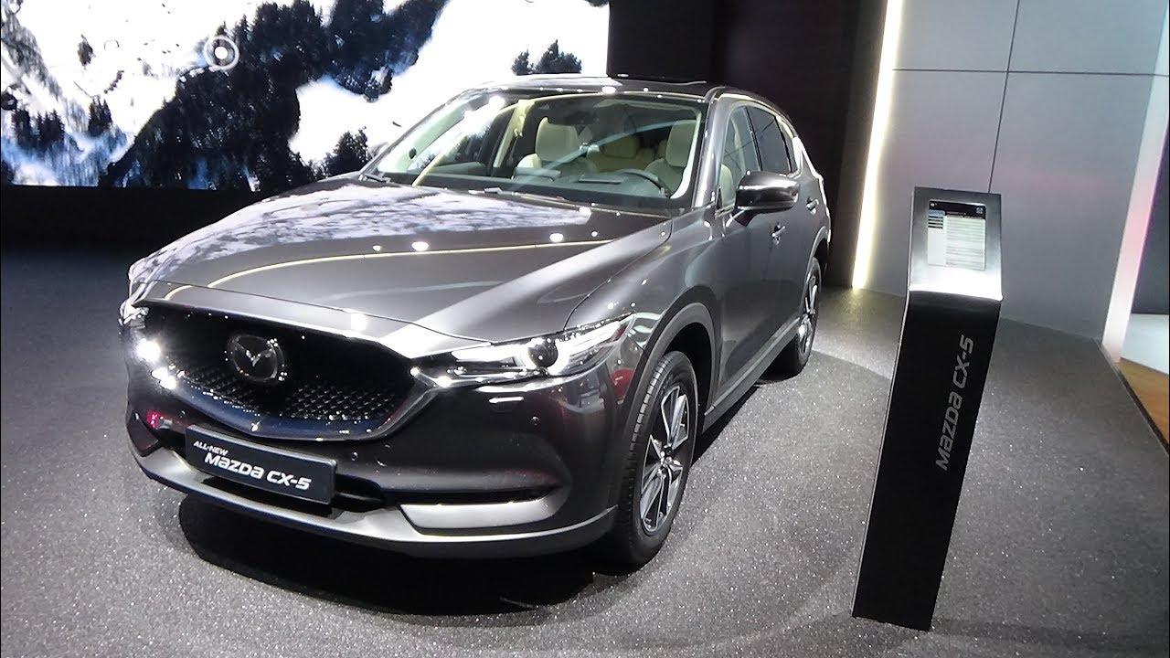2018 Mazda Cx 5 Exterior And Interior Iaa Frankfurt