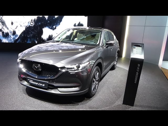 2018 Mazda CX-5 - Exterior and Interior - IAA Frankfurt 2017