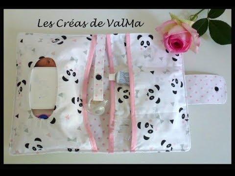 Pochette Nomade A Langer Pour Bebe Tuto Couture Valma