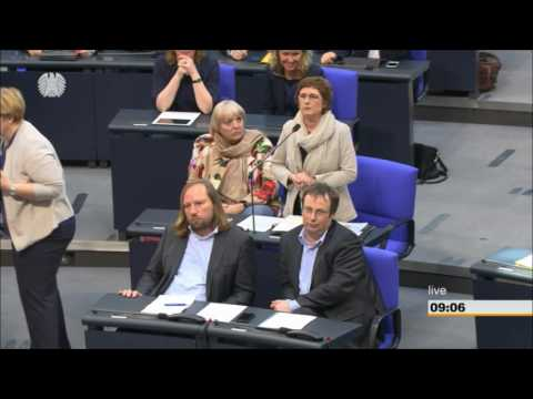 Lammert solidarisiert sich mit den Grünen gegen Dobrindt (+Zwischenrufe)