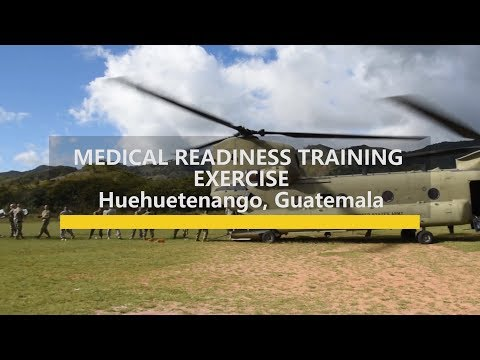 Medical Readiness Training Exercise in Guatemala