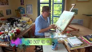 Pintando con Juan Arango 09 mayo