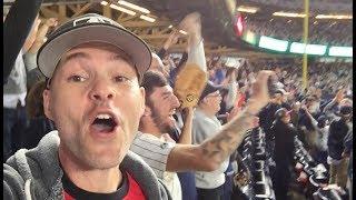 Craziness at the 2017 Wild Card game at Yankee stadium