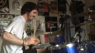 Minor Threat Guilty of Being White Drum Cover