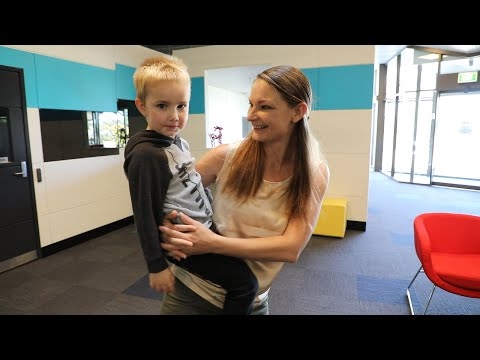 Louise and her son. A video of Louise telling us about her Reconnect Program experience