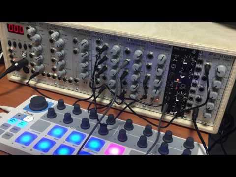 Doepfer A-100 Modular system Live performence