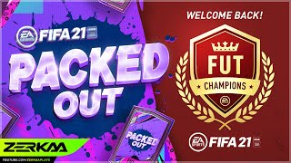 Playing FUT Champs For The 1st Time In 60 Days! (Packed Out #54) (FIFA 21 Ultimate Team)