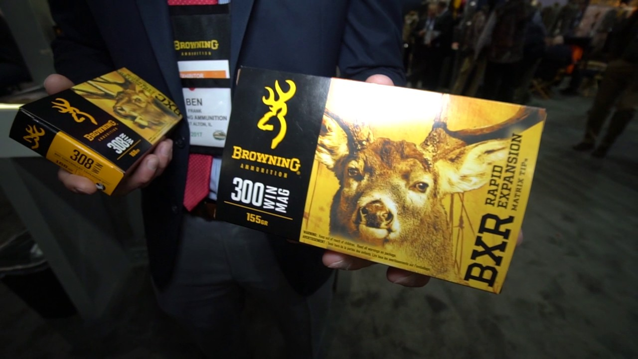 Browning Ammo BXC and BXR 2017 Rifle Ammo
