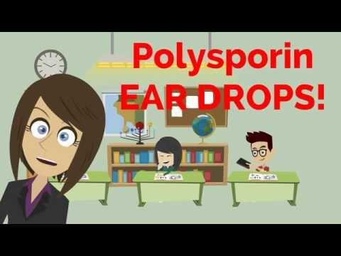 NRS 384 - Polysporin Ear Drops