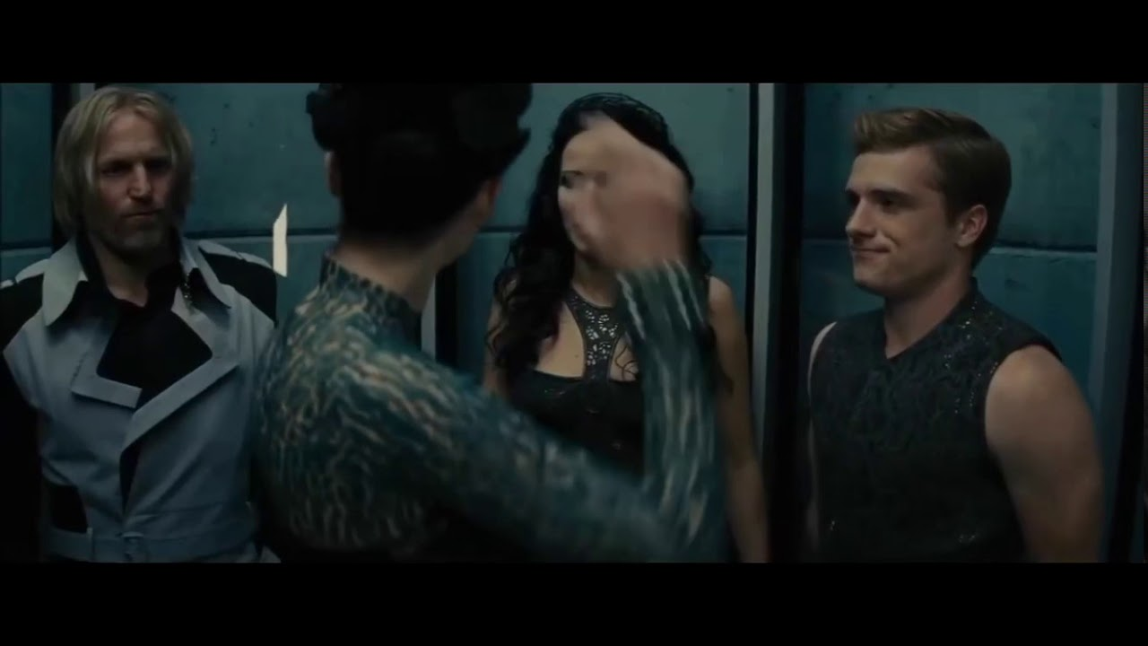 The Hunger Games: Catching Fire Full Elevator Scene - YouTube