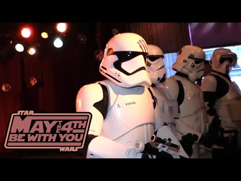 STAR WARS DAY - May the 4th Be With You! 2016 recap - TheSeanWardShow