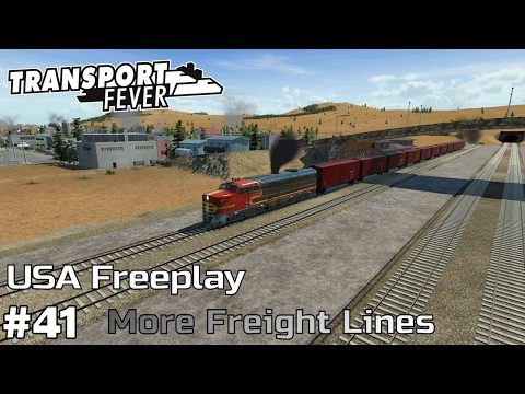 More Freight Lines [1974-75] - Transport Fever [USA Freeplay] [ep41]