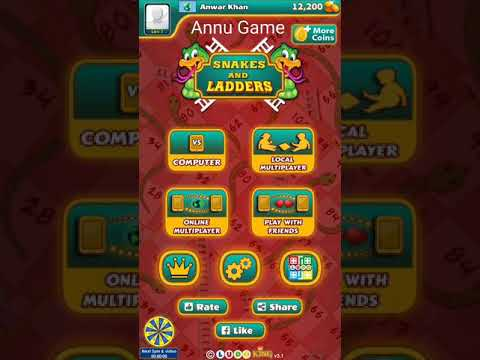 Snake & Ladders Master - Sap Sidi GAME By Annugame Annu Game
