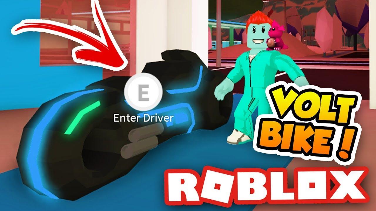 bc65020a55d HUGE 1M VOLT BIKE RACE!! COME JOIN!! - Roblox Jailbreak - YouTube