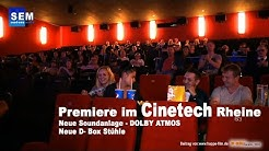 Ab in die 4. Dimension - Cinetech Rheine beim Premierestart