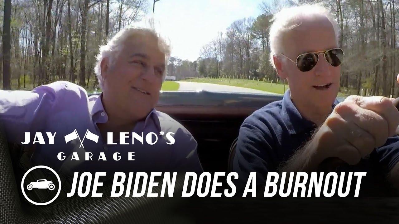 Download Joe Biden Does a Burnout In His Corvette Stingray - Jay Leno's Garage