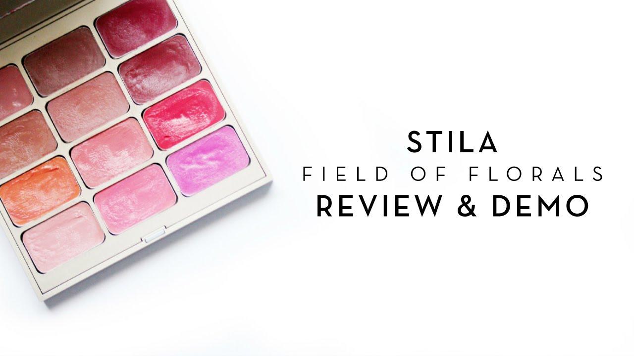 Stila Field of Florals Convertible Lip & Cheek Palette