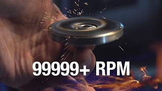 99999+ RPM Fidget Spinner Toy //Cause I Can