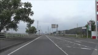 君津市国道410号バイパス直線区間(約3.3km) 俵田交差点→湯名交差点間BGM入り車載動画